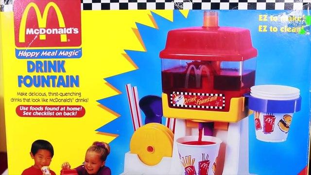 CANDY DONUT MAKER!! ❤ Mega McDonald's Kool Aid Drink Maker Crunch Donut Fun Food Maker Gummy Bears