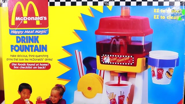 CANDY DONUT MAKER!! ❤ Mega McDonald's Kool Aid Drink Maker Crunch Donut Fun Food Maker Gummy Bears