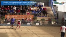 Barrages simple, Sport Boules, Euro Masculin, Nice 2016