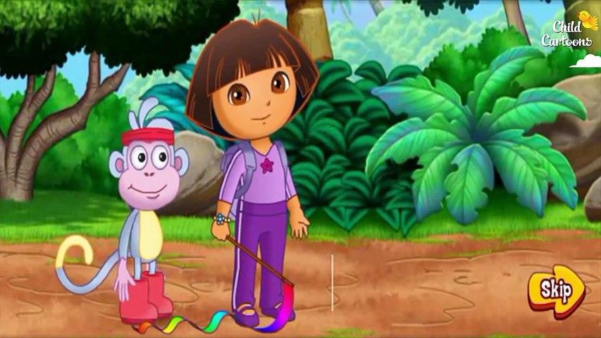 Dora the Explorer - Dora ABC Song & Dora ABC Animals Nursery Rhymes Education Full Episodes