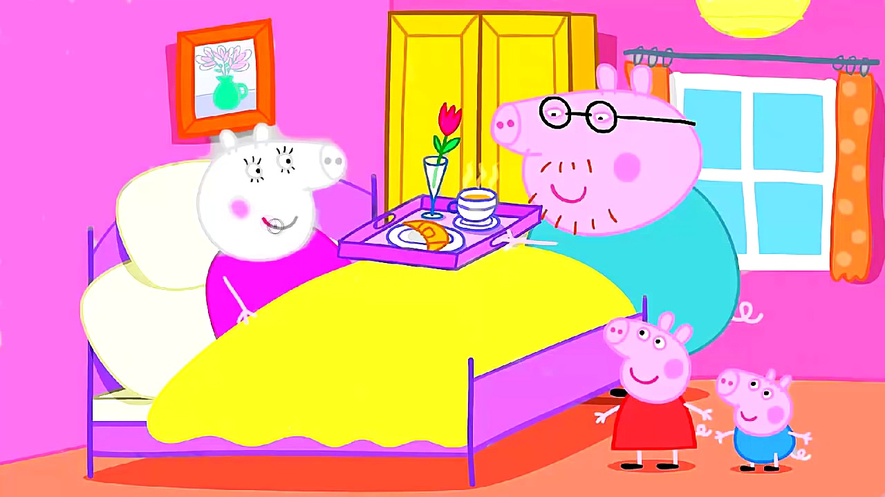 Peppa Pig Mummy Pigs Birthday Coloring Pages Peppa Pig Coloring Book