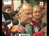 AAP leader Manish Sisodia's speech after meeting with venkaiah naidu