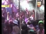 holi celebration at bareily
