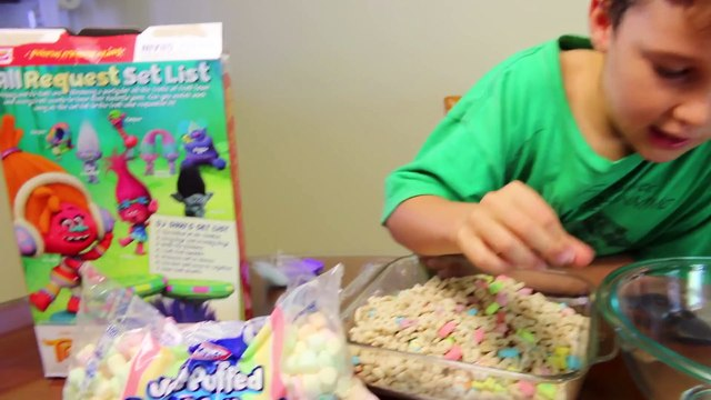 MARSHMALLOWS ONLY FOOD PRANK! Lucky Charms Marshmallow Cereal Taste + GIANT MARSHMALLOW DIY Video