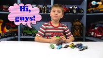 Hot Wheels COLOR CHANGERS Cars & Innovative Toy Caterpillar - Video for children Cars Toys Review