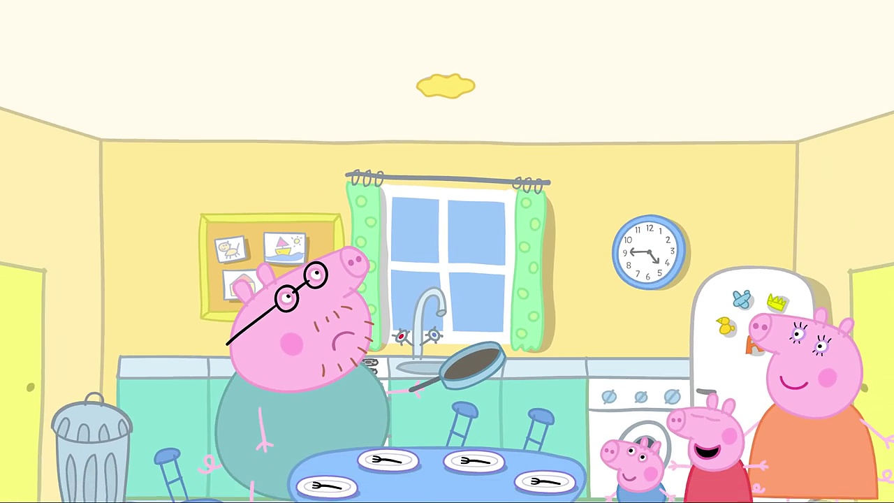 Peppa Pig – Daddy Pigs pancake (clip)