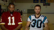 Steph Curry & Kevin Durant TRASH TALK on MNF, Talk Christmas Day Finals Rematch vs LeBron James