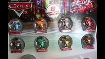 Exclusive METALLIC Micro Drifters 8 Pack Silver Shu Todoroki Metallic Nigel Gearsley Disney