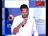 Yusuf Pathan over the fan trying to kiss brother Irfan