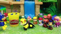 Paw Patrol Super Pups Baby Play Doh Rescue with Chase and Marshall and Robo Dog Super Pups Saved