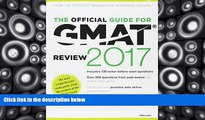 Price The Official Guide to the GMAT Review 2017 Bundle + Question Bank + Video GMAC (Graduate