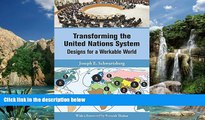 Read Online United Nations Transforming the United Nations System: Designs for a Workable World