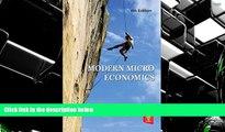 BEST PDF  Modern Micro Economics BOOK ONLINE