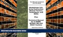 Download Department of Defense Boobytraps U.S. Army Instruction Manual Tactics, Techniques, and