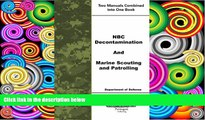 Download Department of Defense NBC Decontamination and Marine Scouting and Patrolling On Book
