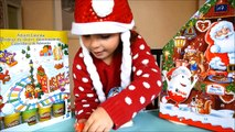 Play Doh and Kinder Surprise Christmas Advent Calendar Day 2 The Peanuts movie Maxi Kinder Eggs