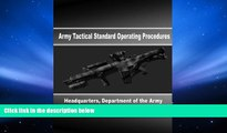 Price Army Tactical Standard Operating Procedures Department of Defense On Audio