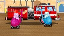 Сamión de bomberos Para Niños - Camiónes infantiles - Caricaturas de carros - Videos para niños