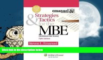 Best Price Strategies   Tactics for the MBE, Fifth Edition (Emanuel Bar Review) Steven L. Emanuel