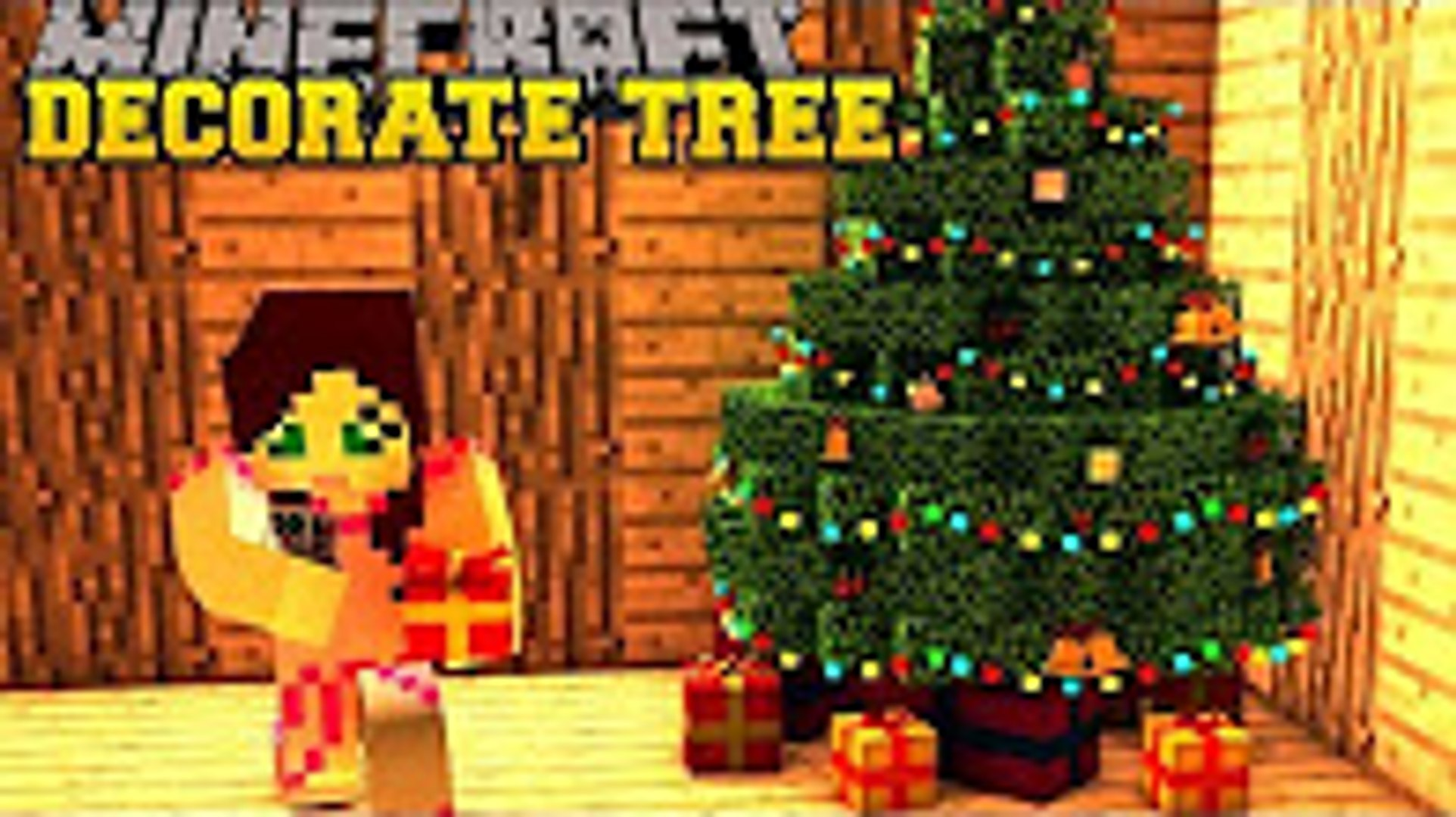 Stampylonghead Christmas.Popularmmos Minecraft Christmas Tree Decoration Challenge Toy Trains Ornaments More Mod Showcase