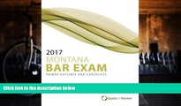 Read Online Quest Bar Review 2017 Montana Bar Exam Primer Outlines and Checklists Full Book Download