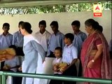 Sonia Gandhi celebrates Raksha Bandhan in Delhi