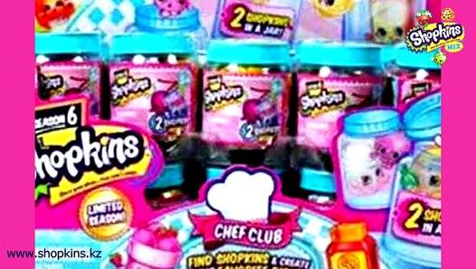 Шопкинс 6 сезон: пакетики, 2 штуки в баночке, куколки ...