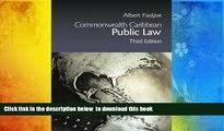 PDF [FREE] DOWNLOAD  Commonwealth Caribbean Public Law (Commonwealth Caribbean Law) TRIAL EBOOK