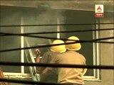 Fire at a garment godown in Maheshtala
