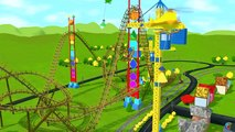 Learn about Shapes with Shawns Roller Coaster Adventure! (Learn 15 2D and 3D shapes)