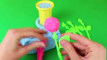 Play Doh Flowers Play Dough Flower Garden Maker Vintage Plants and Pots Roses Daisy Tulips