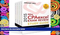 Online O. Ray Whittington Wiley CPAexcel Exam Review 2015 Study Guide January: Set (Wiley Cpa Exam
