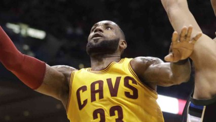 LeBron James Moves Past Moses Malone