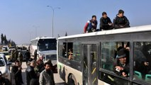اجلاء معظم أهالي حلب الشرقية في سوريا