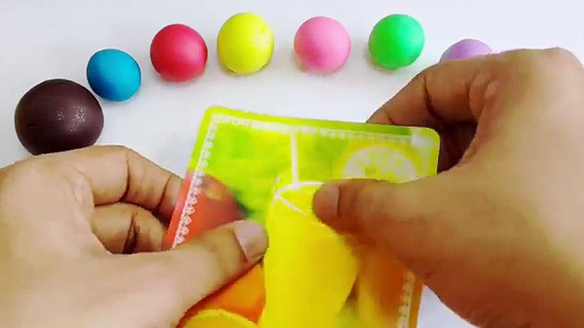 Rainbow Ice Cream Sandwich Recipe With Play Doh! Easy Fun to Learn Rainbow Icecream Sandwich