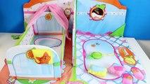Smoothie Babies My Nursery Baby Dolls Crib & Bathroom Mi cuarto de bebé Smoothie Babies Baño y Cuna