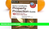 Buy Ron Leshnower Every Landlord s Property Protection Guide: 10 Ways to Cut Your Risk Now (book