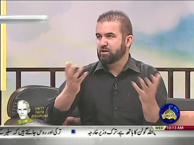 "Prof. Abdul Samad on PTV News in Morning show ""Subh-E-Nau"" Topic: Quaid-e-Azam Muhammad Ali Jinnah"