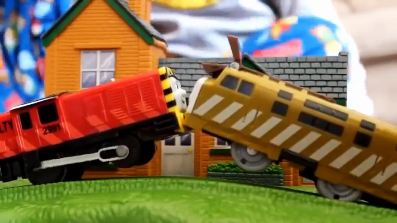 Trackmaster Fisher Price Diesel 10s House