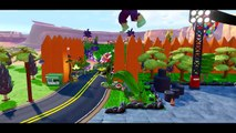 McQueen Cars & Spiderman Colors having Fun w/ Hulk in Disney Pixar Radiator Springs ! Fun Kids video