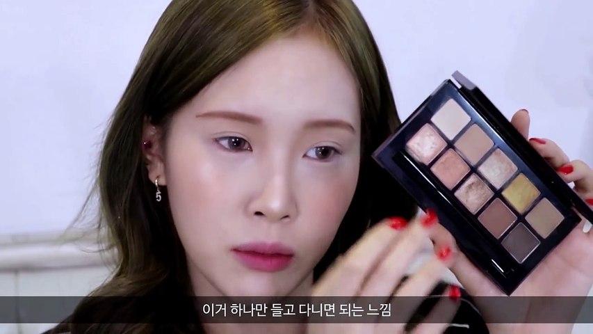 Daily Big Eyes Makeup Tutorial  (feat. Glossy Days X Lena) 매일매일 눈이 커질 수 있는❤️ 데일리 눈 성형 메이크업 - (feat.글로시데이즈X레나)