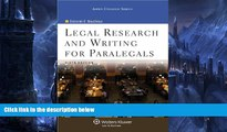 Buy Deborah E. Bouchoux Legal Research   Writing for Paralegals, 6th Edition (Aspen College