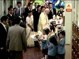 Narendra Modi meets children, school students in Japan, spends some time.