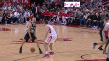 Manu Ginobili Crosses Over and Gets the 3