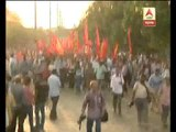 rally against violence:Left Parties march  to Lalbazar