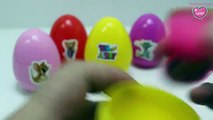 Surprise Eggs Mickey Mouse Tom and Jerry Pirates Ship Barbie Girl Surprise Eggs