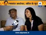 "Ramakant Achrekar finally says, ""Well done, Sachin!"""