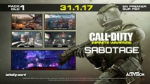 Call of Duty : Infinite Warfare - Aperçu du DLC Sabotage