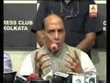 Rajnath expresses concern over law and order situation in West Bengal