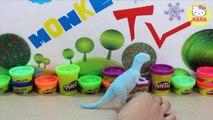Đồ chơi đất nặn, hướng dẫn bé nặn croconaw pokemon - Play doh croconaw pokemon for kid